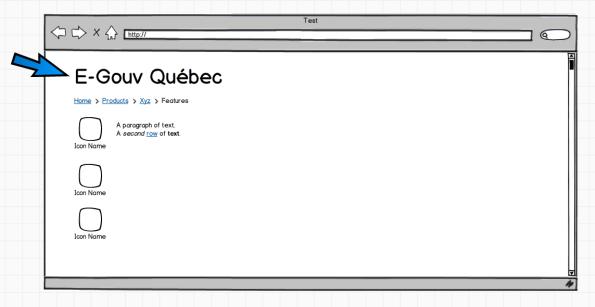 Le mode plein écran offre un curseur bleu surdimensionné.