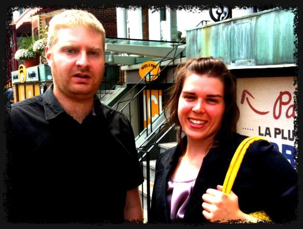 Thierry et Joëlle, nouveaux membres de l'équipe E-Gouv Québec