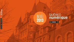 Site Web de Québec numérique : www.quebecnumerique.com
